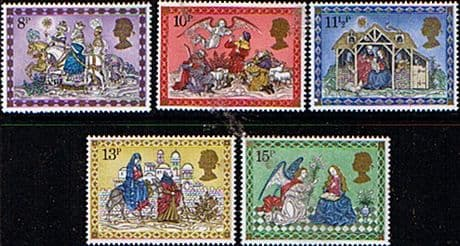 Postage Stamp Stamps Great Britain 1979 Christmas Set Fine Mint