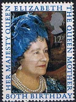 Great Britain 1980 Mothers 80th Birthday Fine Mint