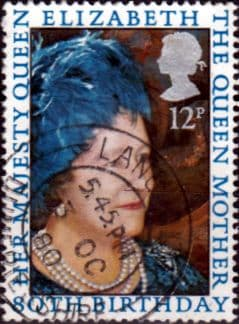 Great Britain 1980 Mothers 80th Birthday Fine Used