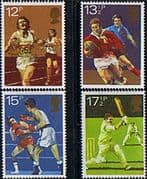 Great Britain 1980 Sport Centenaries Set Fine Mint