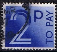 Great Britain 1982 Post Due SG D 91 Fine Used