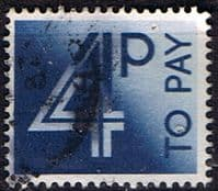 Great Britain 1982 Post Due SG D 93 Fine Used