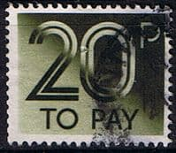 Great Britain 1982 Post Due SG D 96 Fine Used