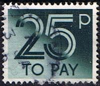Great Britain 1982 Post Due SG D 97 Fine Used