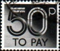 Great Britain 1982 Post Due SG D 98 Fine Used
