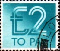 Great Britain 1982 Post Due SG D100 Fine Used