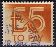 Great Britain 1982 Post Due SG D101 Fine Used