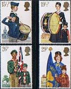 Great Britain 1982 Youth Organizations Set Fine Mint