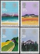 Great Britain 1983 Geographical Regions Set Fine Mint