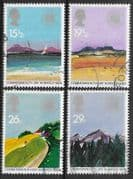Great Britain 1983 Geographical Regions Set Fine Used