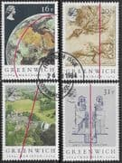 Great Britain 1984 Centenary of Greenwich Meridian Set Fine Used