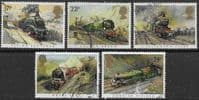 Great Britain 1985 Famous Trains Set Fine Used