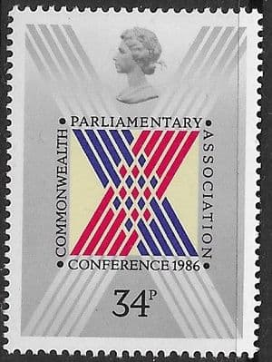 Stamps of Great Britain 1986 Royal Air Force Set Fine Mint