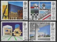 Great Britain 1987 British Architects in Europe Set Fine Used
