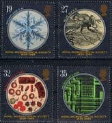 Great Britain 1989 Royal Microscopical Society Set Fine Mint