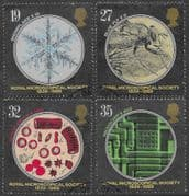 Great Britain 1989 Royal Microscopical Society Set Fine Used
