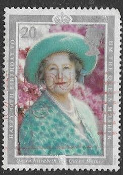 Great Britain 1990 90th Birthday of Queen Elizabeth the Queen Mother SG 1507 Fine Used