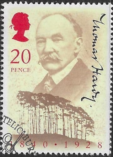 Great Britain 1990 Anniversary of Thomas Hardy Fine Used