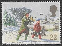Great Britain 1990 Christmas SG 1527 Fine Used
