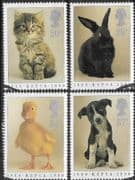 Great Britain 1990 Royal Society for Prevention of Cruelty to Animals Set Fine Used