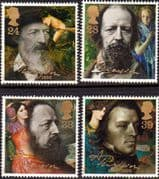 Great Britain 1992 Alfred, Lord Tennyson Set Fine Mint