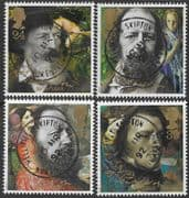 Great Britain 1992 Alfred, Lord Tennyson Set Fine Used