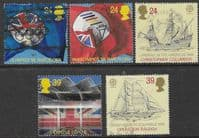 Great Britain 1992 International Events Europa Set Fine Used