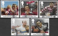 Great Britain 1995 Centenary of Rugby League Set Fine Used