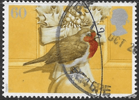 Great Britain 1995 Christmas Robins SG 1900 Fine Used