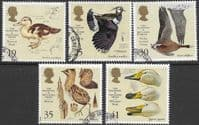 Great Britain 1996 Anniversary of the Wildfowl and Wetlands Trust Set Fine Used
