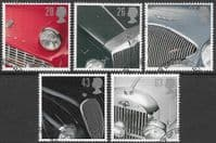 Great Britain 1996  Classic Sports Cars Set Fine Used