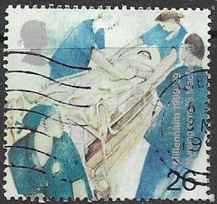 Great Britain 1999 Millennium  The Patients Tale SG 2081 Fine Used