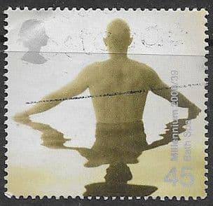 Great Britain 2000 Millennium Projects Body and Bone SG 2168 Fine Used