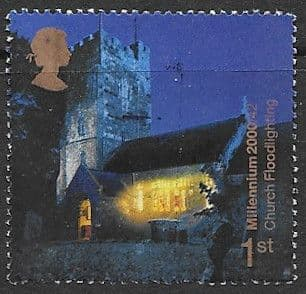Great Britain 2000 Millennium Projects Spirit and Faith SG 2171 Fine Used