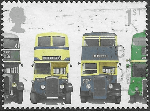 Great Britain 2001 150th Anniversary of First Double-decker Bus SG 2211 Fine Used