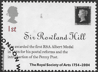 Great Britain 2004 Anniversary of the Royal Society of Arts SG 2473 Fine Used