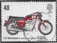 Great Britain 2005 Motorcycles SG 2549 Fine Used