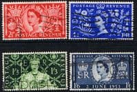 Great Britain Queen Elizabeth II 1953 Coronation Set Fine Used