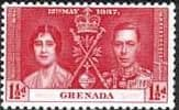 Grenada 1937 King George VI Coronation SG 150 Fine Mint
