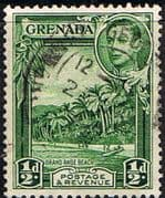 Grenada 1938 King George VI SG 153a Fine Used