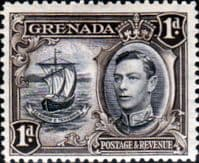 Grenada 1938 King George VI SG 154 Fine Mint