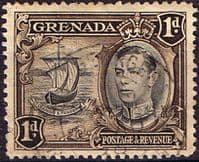 Grenada 1938 King George VI SG 154 Fine Used