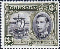 Grenada 1938 King George VI SG 158 Fine Mint