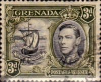 Grenada 1938 King George VI SG 158 Good Used