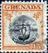 Grenada 1951 King George VI SG 183 Used