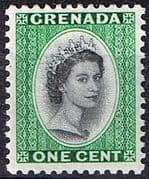 Grenada 1953 Queen Elizabeth Head SG 193 Fine Mint