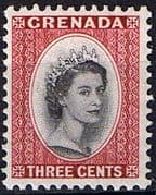 Grenada 1953 Queen Elizabeth Head SG 195 Fine Mint