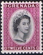 Grenada 1953 Queen Elizabeth Head SG 200 Fine Mint