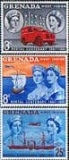 Grenada 1961 Grenada. Stamp Centenary Set Fine Mint