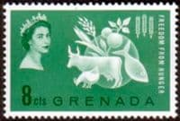 Grenada 1963 Freedom From Hunger Fine Mint
